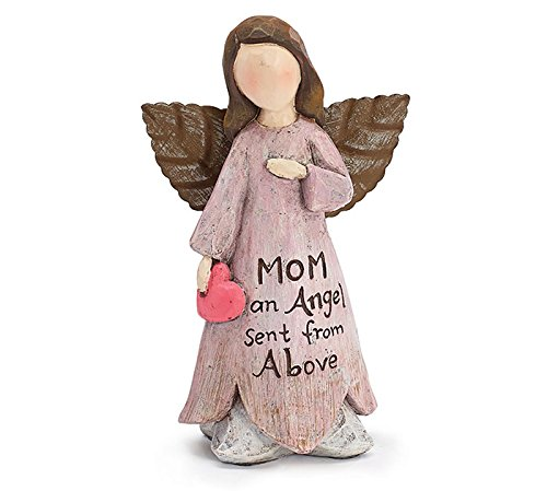 Fairy Angel Figurine Gift Boxed Message  Mom- An Angel Sent From Above