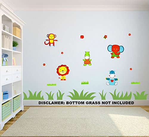 14 Premium 3D Wall Decals ▪ Safari Animals 2 ▪ Eco-Friendly ▪ Reusable ▪ Long Lasting ▪ Easy Stick ▪ Colorful ▪ Foam Stickers ▪ Kids Room Decals ▪ Educational Sticker Decals ▪ Nursery Baby Decor