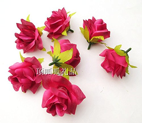 Hot New Artifical rose wedding head flowers diy silk flowers home decorative flowers wreaths mix color 150