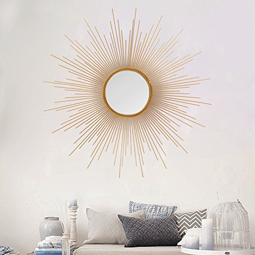 Joveco Wall Decorations Series Sun with Mirrors