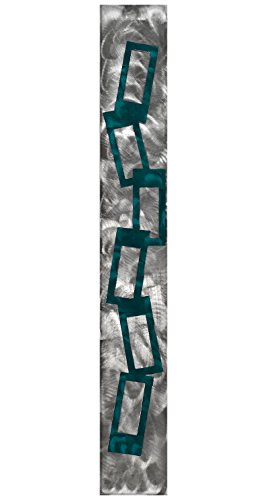 7055 Inc Warrior Candy Chain Metal Wall Art Candy Teal