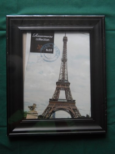 Rosemere Collection Black 8x10 Picture Frame