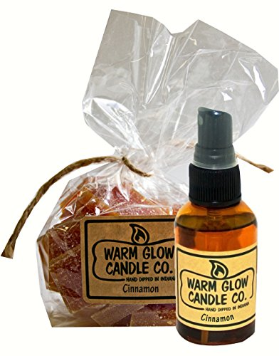 Warm Glow Candle Company Cinnamon 2oz Atomizer Oil Scent Chips