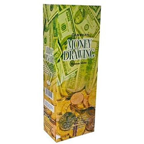 Product Of Darshan Incense Sticks Money Drawing Count 6 20Stick - Air Freshener  Grab Varieties Flavors