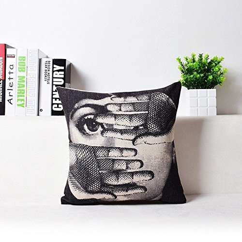 Modern Cushion Covers Printed Art Fornasetti Bed Car Hotel Printed Luxury Home Decor Sofa Vintage Pillowcase Cushion Cover