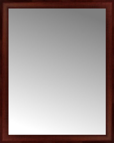 32 x 40 Ansley Mahogany Custom Framed Mirror