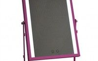 Large-Makeup-Mirror-with-LED-Light-Vanity-Mirrors-Can-Be-Hanging-180-°-Rotation-White-Yellow-Lights-Swap-Touch-Screen-Adjustbale-Brightness-Pink-16.jpg